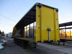 1 - SDC Tri Axle Curtainside Trailer