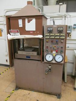 1 - Wabash PC75-18-2TMX 75 Ton Heated Platen Hydraulic Press