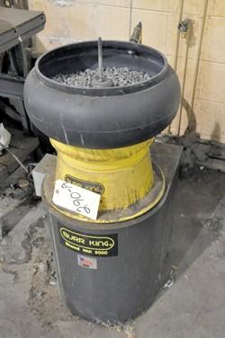 1 - Burr King Vibratory Parts Deburring Machine