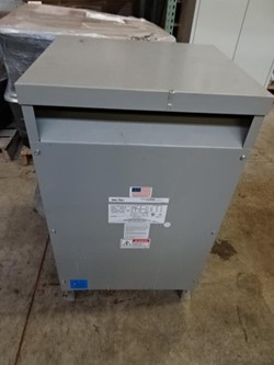 1 - Federal Pacific S2T37E 37.5KVA Transformer