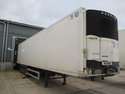 1 - Gray Adams DC ST INS Refrigerated Box 45ft Tri-Axle Trailer