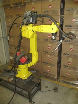 1 - Fanuc Arc Mate 100 Robotic Welding Cell