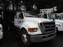 1 - Ford F-650XL Single Axle Crew Cab Dually Dump Truck