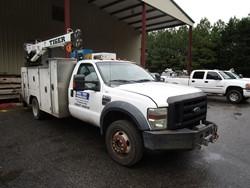 1 - Ford F-550XL SD Crew Cab Service Truck
