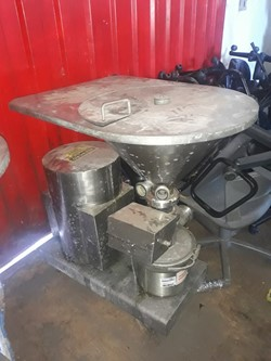 1 - Stainless Stell Vetical Triblender  Absorber