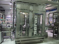 1 - Serac Line to Filler and Capping to Plastic Pot of 500g  Filler/Capper