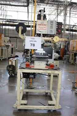 1 - United Silicone Inc US 10 Press Stamping Machine