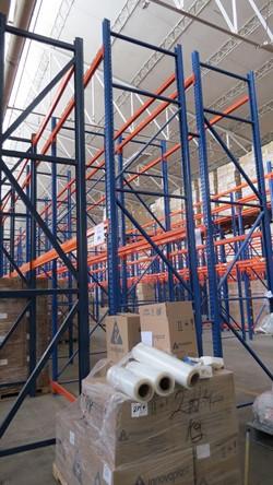 1 - Lot of Heavy Duty Bulk Storage Racking