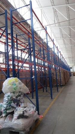 1 - Lot of Heavy Duty Bulk Storage Racking