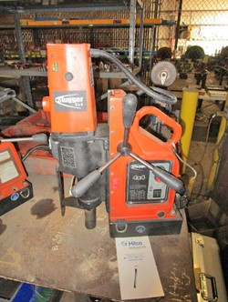 1 - Jancy 4x4 1.8 HP Magnetic Base Drill