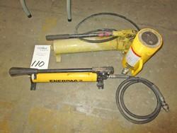 1 - Enerpac P39 10,000 PSI Hydraulic Hand Pump