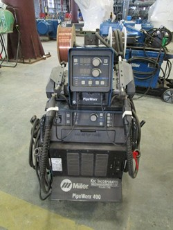1 - Miller PipeWorx 400 Serial Number: MH424008B , Tig , Mig , Stick Capable, One Touch Process Change Over ,Miller