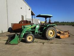 1 - John Deere 5103 Front End Loader Tractor