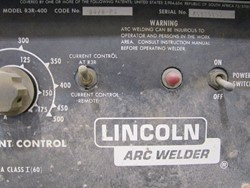 1 - Lincoln R3R-400 DC Arc Welder