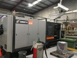 1 - Sandretto mega TESF 8200 800-Ton Injection Molding Machine