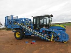 1 - FireFly Automatix, Inc. ProSlab 155B Turf Harvestor