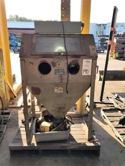 1 - Econoline RA-63-1 3' x 2' Abrasive Blast Cabinet