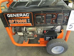 1 - Generac GP7500E 7500 Watt Electric Generator