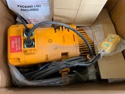 1 - Harrington SNERP020L 2 Ton Electric Chain Hoist
