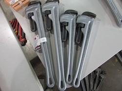 4 - Ridgid Unused Aluminum Pipe