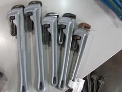 5 - Unused Aluminum Pipe