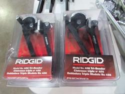 6 - Ridgid 456 Tri-Bender Unused 1/4