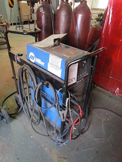 1 - Miller Dynasty 350 35-amp DC TIG Welder