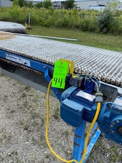 1 - Lot of 2 Span Tech Plastic Top Conveyor