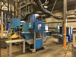 1 - Muller Martini Stacker, Under Wrraper Strapping Line - Printing