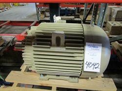 1 - General Electric 5KS365XAA208D12 75 HP Electric Induction Motor
