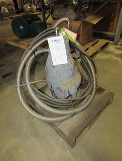 1 - Flygt 3085.19 3 HP Submersible Pump