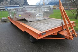 1 - MAFI 1170-L Heavy Duty Trailer