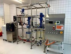 1 - TBD Pilot Scale reactor System +  Centrifuge