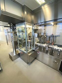 1 - Sterile Powder  Filling Machine