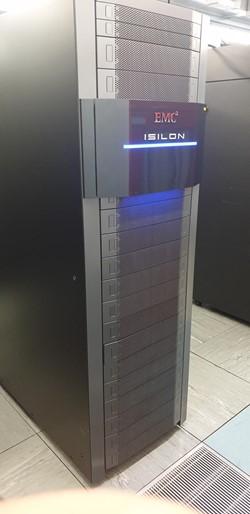 1 - EMC2 Isolon Unpopulated Equipment Rack