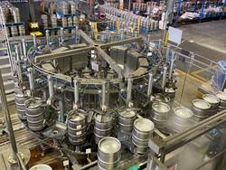 1 - Keg Line  Keg line can handle 600 kegs per hour Packaging Line