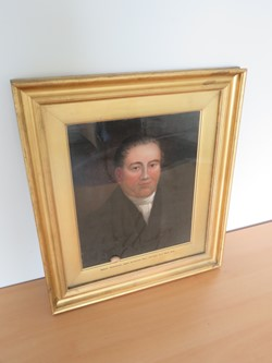 1 - Framed Painting of Robert Debenham