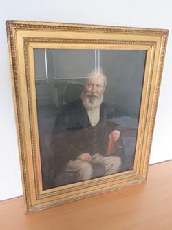 1 - Framed Painting of William Debenham 1764-1863