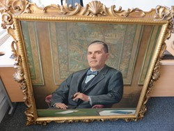 1 - Framed Painting of Sir Frederick Richmond