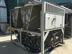 1 - 2x York Air-Cooled Chillers (2012) 196kW Cooling Capacity Chiller