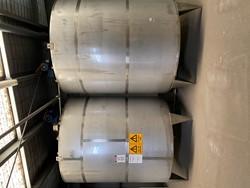 1 - 2x Iopak 10000 L Stainless Steel Tanks Year: 2010 Storage Tank