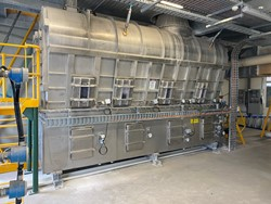 1 - 1999 Hosokawa Micron Fluid Bed Dryer, 1000Kg/hr Fluid Bed Dryer